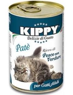 Kippy Cat Adult Paté Peix amb Verdures 400 gr 8015912503329