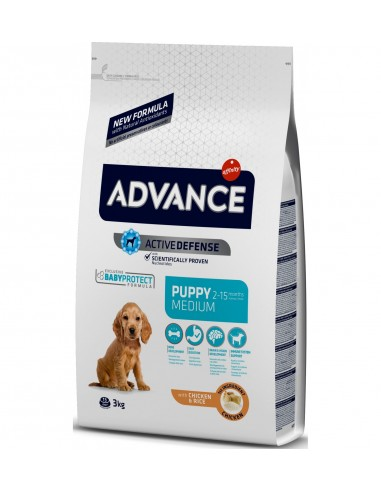 Advance Puppy Medium Pollastre 3 kg 8410650150291