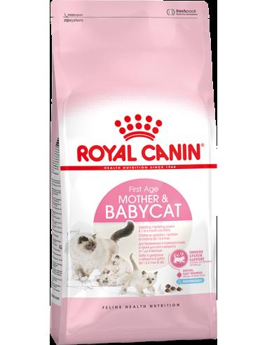 Royal Canin Health Nutrition Cat Mother & Kitten 2 kg Pinso Gats Cadells i Mares Totes les Races Dieta Normal Digestibilitat Au
