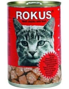 Rokus Cat Adult Trozos de Buey 410 gr. 8710862000187