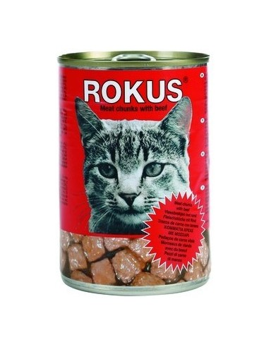 Rokus Cat Adult Trossos de Bou. 410 gr 8710862000187