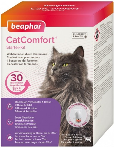 Beaphar Cat Comfort Starter Kit 48 ml. 8711231171491