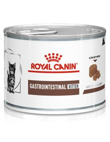 Royal Canin Veterinary Diet Cat Gastrointestinal Kitten Mousse. 195 gr 9003579013403