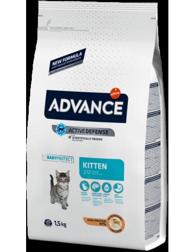 Advance Cat Kitten Pollastre 1,5 kg 8410650151892