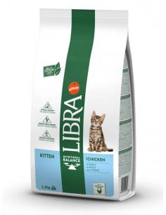 Libra Cat Kitten Pollastre. 1,5 kg 8410650203089