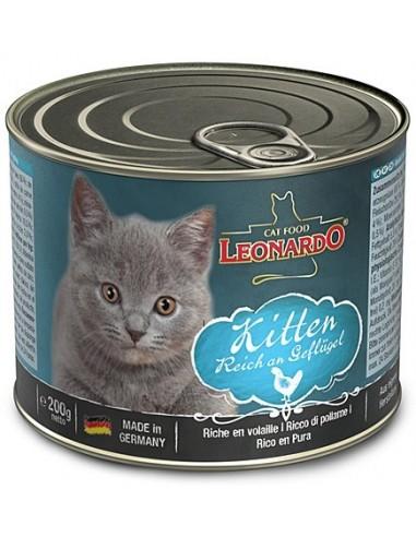 Leonardo Kitten Au i Vedella 200 gr 4002633756145