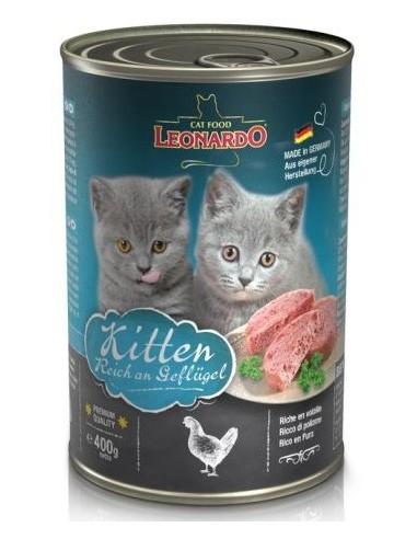 Leonardo Kitten Au i Vedella 400 gr 4002633756244