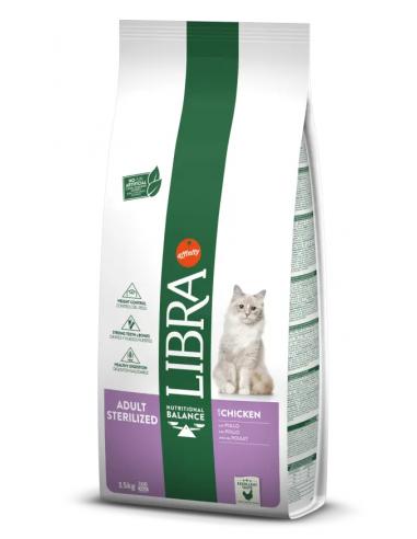 Libra Cat Adult Sterilized Pollastre 15 kg 8410650209401