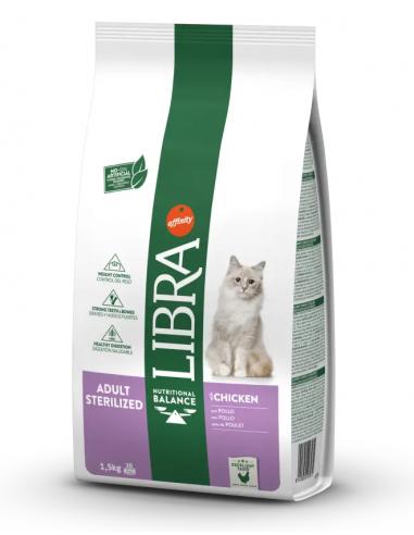 Libra Cat Adult Sterilized Pollastre 1,5 kg 8410650203072