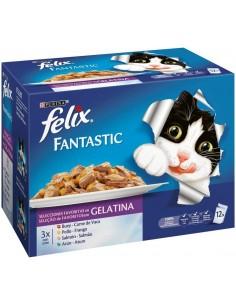 Purina Felix Fantastic Adult Mix Selecciones Favoritas 12 x 100 gr 7613034370792