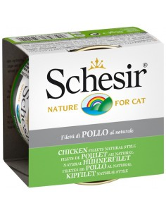 Schesir Cat Filets de Pollastre al Natural 85 gr 8005852750532