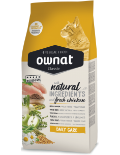 Ownat Cat Classic Daily Care 15 Kg. 8429037016181