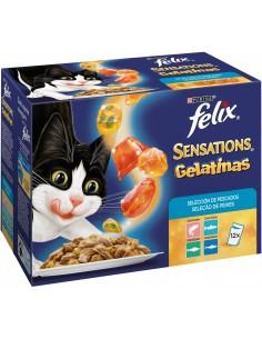 Purina Felix Sensations Adult Mix Selecció de Peixos 12 x 100 gr 7613036213622
