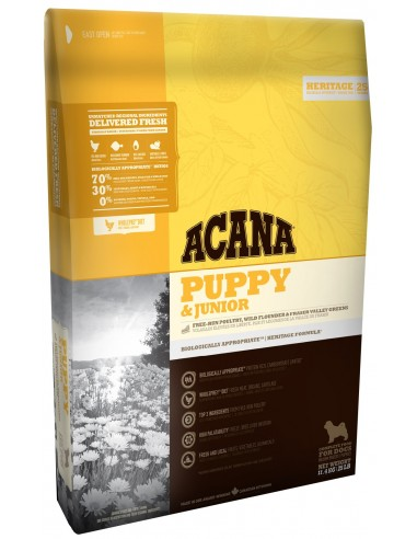 Acana Heritage Puppy & Junior 17 kg 064992500177