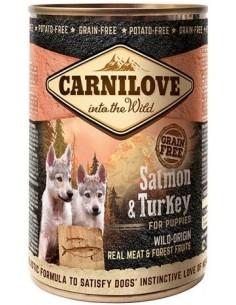 Carnilove Dog Puppy Salmón y Pavo 400 gr 8595602534692