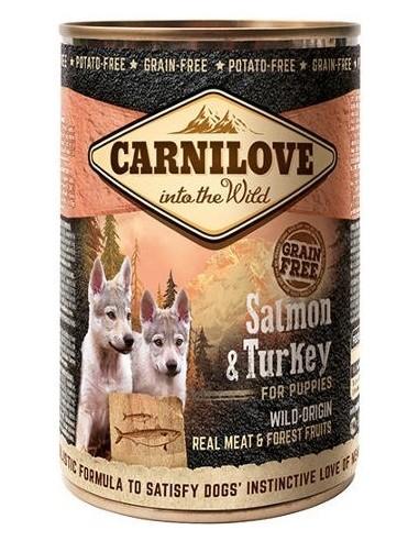 Carnilove Dog Puppy Salmó Gall Dindi 400 gr 8595602534692