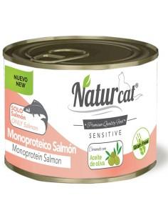 Natur Cat Sensitive Adult Monoproteico Salmón Grain Free 200 gr 606110285537