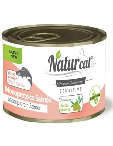 Natur Cat Sensitive Adult Monoproteïc Salmó Grain Free 606110285537