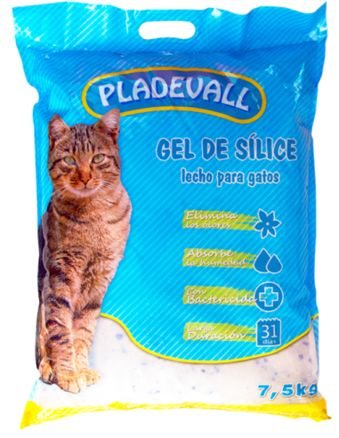 Pladevall Gel de Sílice 6 L. 6924030120337