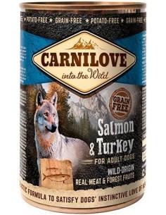 Carnilove Dog Adult Salmó Gall Dindi 400 gr 8595602534715