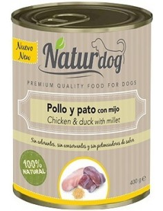 Naturdog Adult Pollo y Pato...