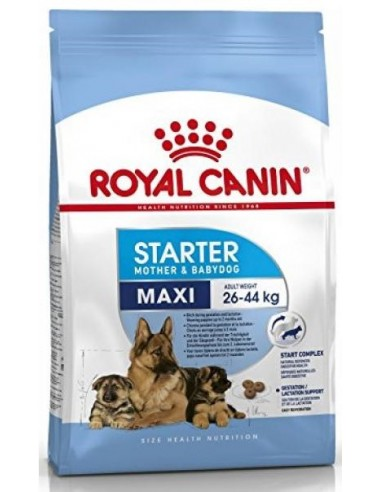 Royal Canin Size Dog Starter Mother & Babydog Maxi 15 kg. 3182550778787