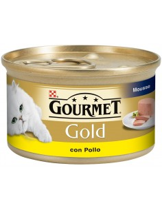 Purina Gourmet Gold Adult Mousse Pollo 85gr 8410168195586