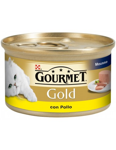 Purina Gourmet Gold Cat Adult Mousse Pollastre 85 gr 8410168195586