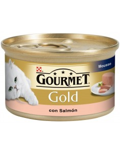 Purina Gourmet Gold Cat Adult Mousse Salmón 85 gr. 7613033156212