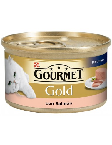 Purina Gourmet Gold Adult Mousse Salmó 85 gr 7613033156212