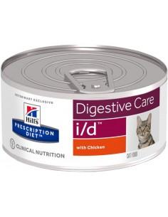 Hill's Prescription Diet Cat i/d 156 gr. Llaunes Gats Totes Edats Totes Races Enfermetats Gastrointestinals 52742462806