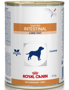 Royal Canin Veterinary Diet Dog Adult Gastrointestinal Low Fat Mousse 410 gr 9003579309452