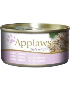 Applaws Kitten Sardina 1,5 Kg. Llaunes Gats Cadells i Joves Totes les Races Dieta Normal Sardina