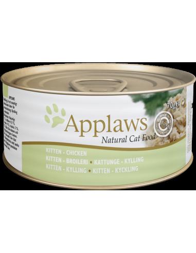 Applaws Kitten Pollastre 70 gr 5060122490009